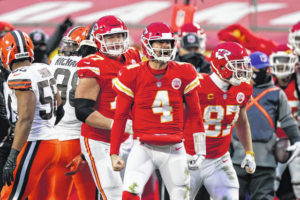 Chiefs' Henne goes from backup QB to playoff stage
