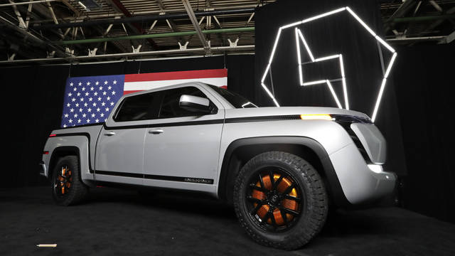 The electric Endurance pickup truck at Lordstown Motors Corporation can be seen June 25 in Lordstown. Lordstown Motors Corp. said it already has begun metal stamping and welding for the Endurance All-Electric Pickup Truck prototypes, which will be used for testing. Full production of the Endurance pickups is slated to begin in September at the former General Motors assembly plant near Youngstown, which Lordstown Motors bought in 2019. The company took over the plant after GM ended its more than 50 years of car manufacturing at the plant.