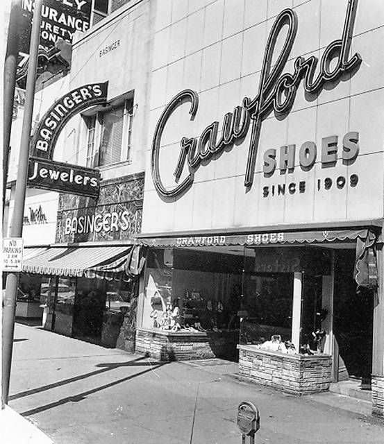The store, photographed in the 1960s.