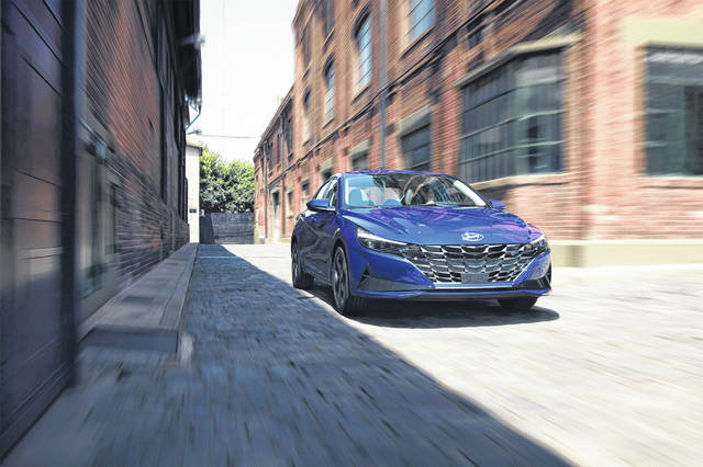 The 2021 Hyundai Elantra has been selected as the North American Car of the Year.