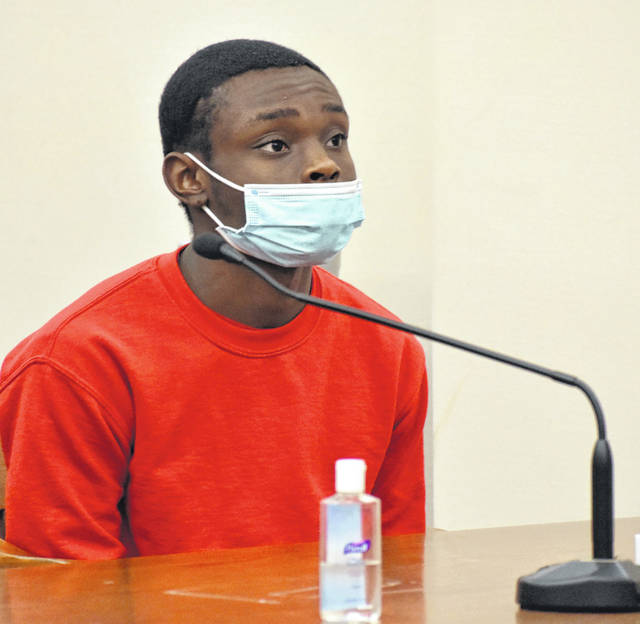 Sixteen-year-old Lima resident Ja'naz Smith made his initial appearance in Allen County Common Pleas Court on Friday for a hearing on a motion to reduce his bond. Smith is one of two juveniles charged in the shooting death of Danielle Jackson during a robbery attempt just over a year ago outside Pappy's Lounge. The teen's bond was reduced from $1 million to $750,000.