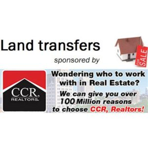 Land transfers, Jan. 7-13