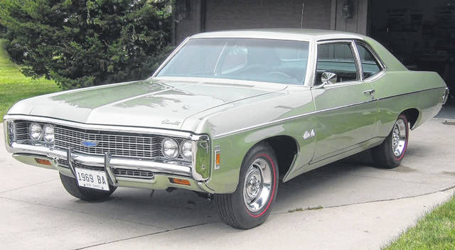 Dan Kramer, of Delphos, has owned this 1969 Chevrolet Bel Air two-door since it was two-and-a-half years old.
