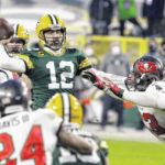 Bucs win, Brady going to 10th Super Bowl, Packers coach questioned