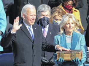 Biden's time to lead