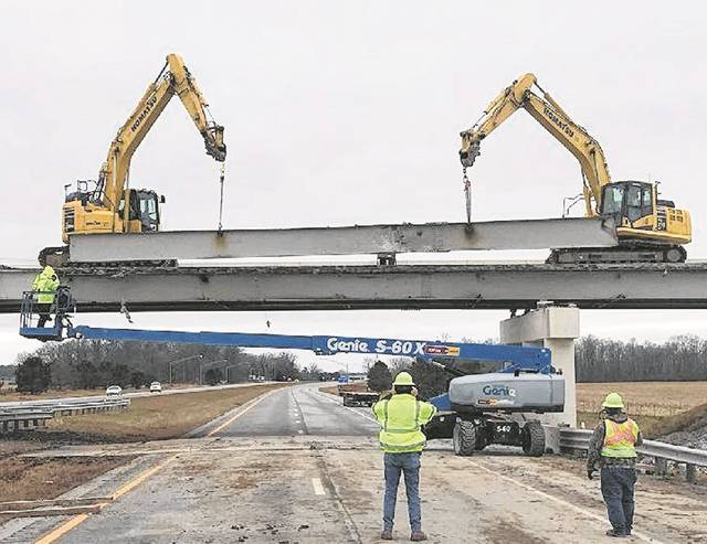 The Slabtown bridge over U.S. 30 will be closed through mid-summer while repairs are being made.