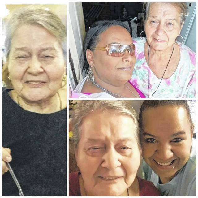Glenna Diana Casto, 71, pictured with her daughters Andie Fallon (top right) and Angel Hopkins (bottom left).