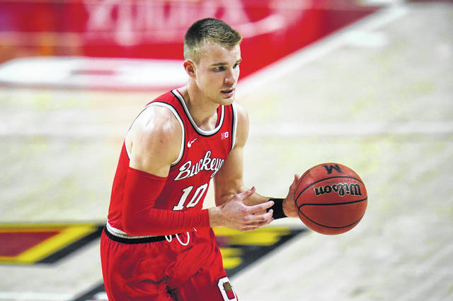Ohio State junior Justin Ahrens has shot 3-pointers exceptionally well this season but it was greater attention to detail on defense that got him the opportunity to show what he could do offensively, Buckeyes coach Chris Holtmann says.