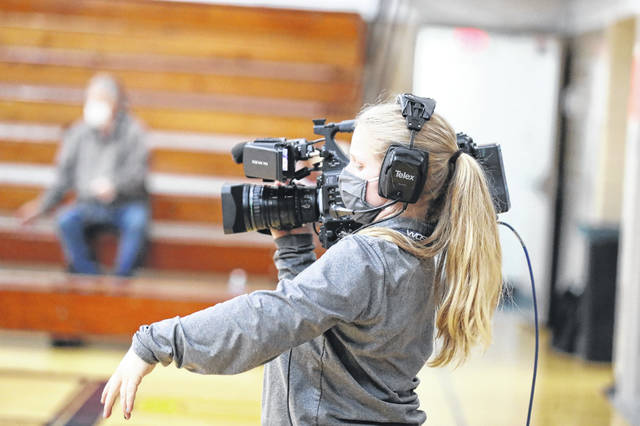 Videographers have been a common sight at high school games this year as live streams and the showing of games has been instrumental in allowing fans to watch sporting events