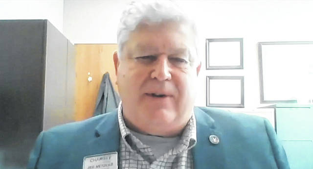 Jed Metzger, the president and CEO of the Lima/Allen County Chamber of Commerce, speaks about businesses' role in protecting the public during the COVID-19 pandemic.