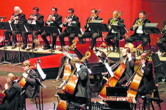 A past performance of the Lima Symphony Orchestra.