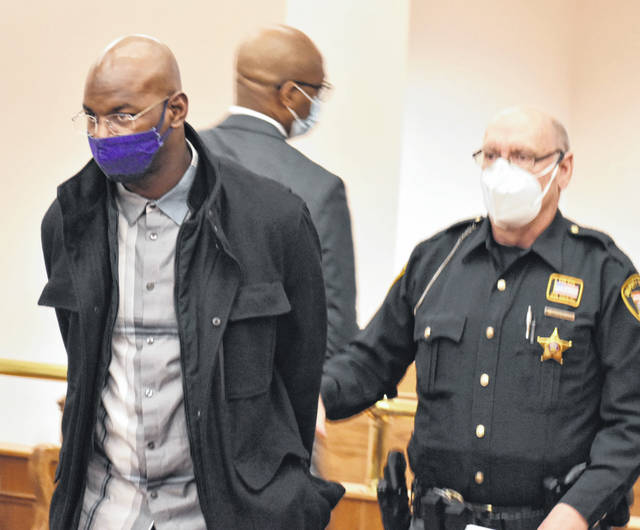 Larisco Little Jr., 38, of Lima, left an Allen County courtroom in handcuffs Monday morning to begin serving an 18-month prison sentence for fondling a 14-year-old girl.