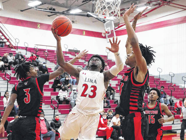 Lima Senior head coach Quincey Simpson has called Jourdyn Rawlins (23) one of the best defensive players in the state and the Spartans' defense will be instrumental in the team making a big run in the postseason.