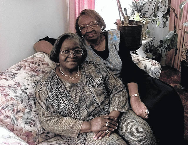 Sisters Maggie Breaston and Georgia Newsome, photographed in an unknown year. Both were called into community service.
