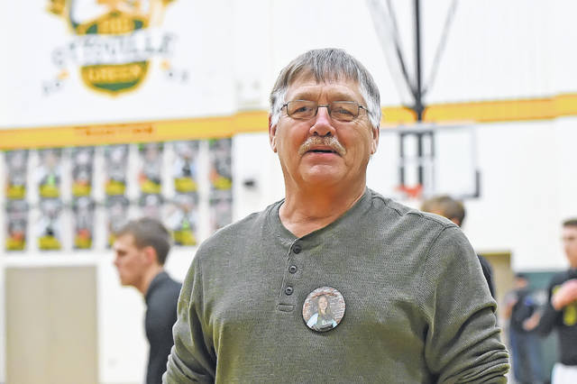 Paul Boecker is a familair face at Ottoville boys basketball games.