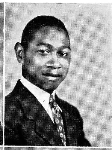 Potts, photographed in 1943 at South High School.