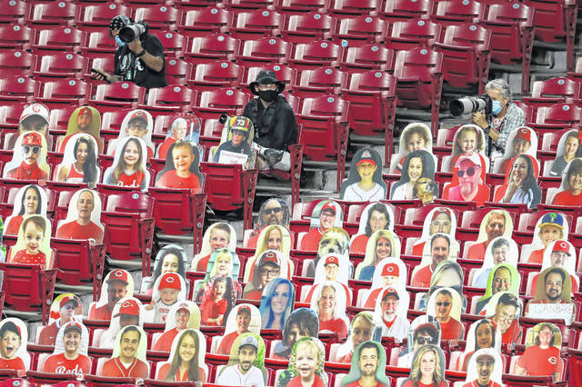 The Cincinnati Reds hope to see more fans and fewer cutouts after Ohio governor Mike DeWine said on Monday that pro sports teams in Ohio might be able to allow up to 30 percent of capacity this spring.