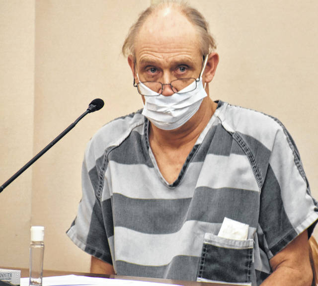 "Grant Rose, 57, of rural Bluffton, appeared in Allen County Common Pleas Court Monday to waive his constitutional right to a speedy trial on charges that include human trafficking and promoting prostitution. Rose appeared agitated throughout the hearing, telling the judge ""I don't care anymore"" and randomly proclaiming his innocence."