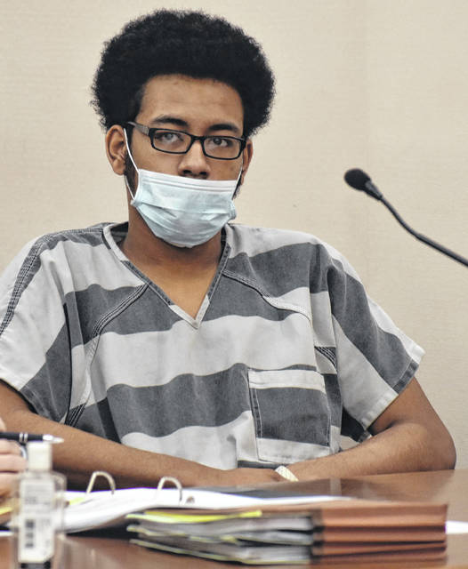 Jervon Fernandez-Wesley, 18, of Lima, is charged with aggravated murder, murder and aggravated arson for causing the death of his half brother, Michael Gillyard, in an Aug. 15 fire at a West Circular Street residence.
