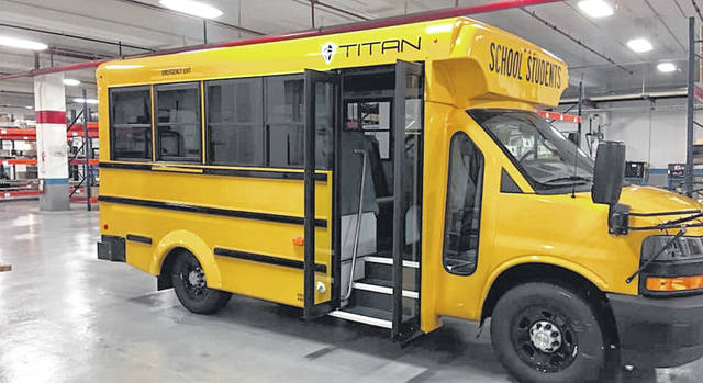 School bus manufacturer Titan Bus was founded in January 2017 by owners Ed and Joe Verhoff of Verhoff Machine and Welding, Ottawa. It employs 25 people.