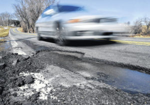 Potholes: An annual rite of spring