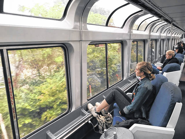 Aboard the Capitol Limited (pre-pandemic), which travels from Washington, D.C., to Chicago via Cleveland. Amtrak is planning to restore daily long-distance train service through Cleveland this spring, reduced last year because of the coronavirus pandemic. Amtrak will bring back daily service on all 12 reduced routes on a staggered basis in late May and early June. The two lines that come through Cleveland will resume daily service on May 31.