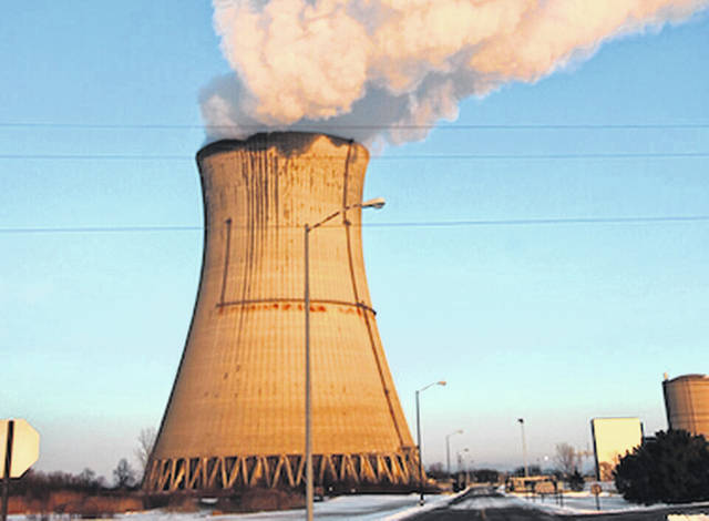 Ohio lawmakers on Thursday passed legislation scrapping a $1 billion-plus ratepayer bailout of two nuclear power plants along Lake Erie, including the Davis-Besse nuclear power plant outside Toledo that's seen here.