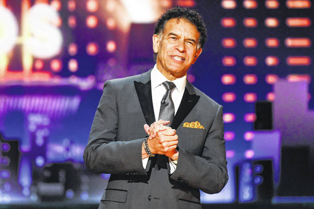 """Brian Stokes Mitchell introduces the In Memoriam tribute at the 73rd annual Tony Awards on June 9, 2019, in New York. The Tony Award-winning performer, who serves as chairman of the national human services organization The Actors Fund, calls the past 138 years of the fund """"a dress rehearsal"""" for these desperate times. Mitchell thinks it may be five years before Broadway recovers from the pandemic."""