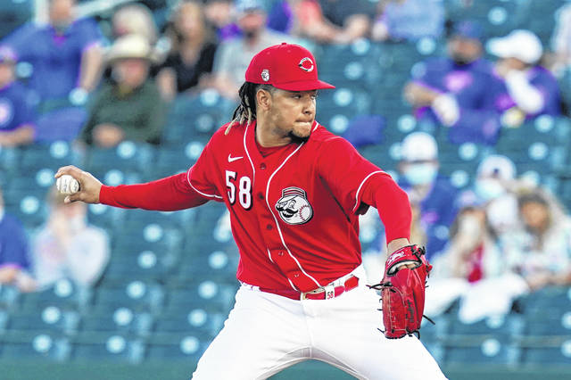 Cincinnati Reds starting pitcher Luis Castillo, expected to be one of the team's top pitchers, will get the start on opening day.