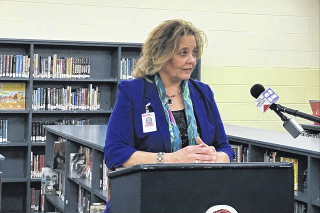 Lima schools Superintendent Jill Ackerman talks about the challenges and successes of public schooling amid a pandemic as the district prepares for its annual Public School Week celebrations. Mackenzi Klemann   Lima News.