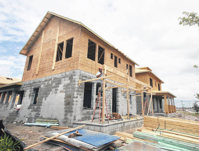 New-home construction in Lake Nona, Fla.