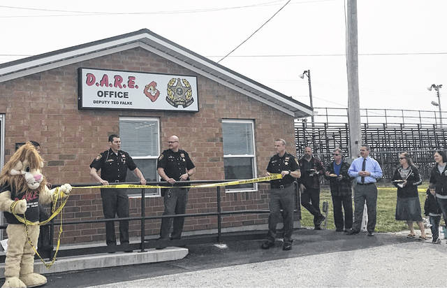 The D.A.R.E. building at the Allen County Fairgrounds underwent a major renovation.