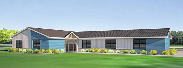 Rendering of the forthcoming LifeWise Academy in Elida, which will offer Elida elementary students the chance to attend religion classes during the school day in place of an art, music or library course. A renovation of a former residence on Sunnydale Road is underway ahead of the anticipated fall 2021 opening.
