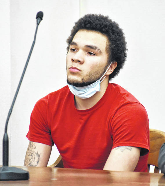 Jeremiah Alexander, 18, was sentenced to a prison term of five years on Monday on a charge of felonious assault, a second-degree felony that included a three-year firearm specification. The incident took place last summer, four days before Alexander turned 18.