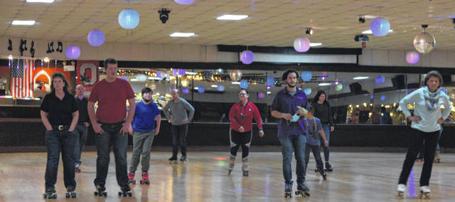 Edgewood Skate Arena held a reunion skate Sunday night, where skaters of all ages could reminisce about growing up at the rink, which was built in 1978.