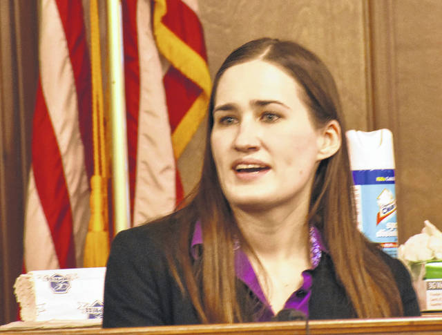 Sara Tipton, a forensic scientist with the Ohio Bureau of Criminal Investigation, testified that evidence taken from the home of Terrez Carter and submitted to BCI for analysis consisted of nearly 45 grams of cocaine.