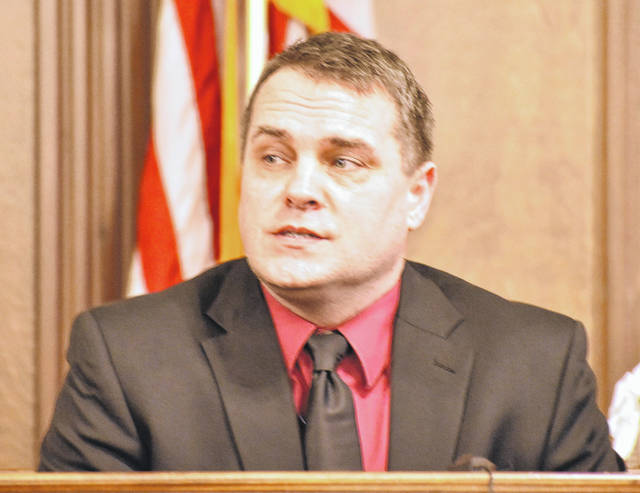 Detective Steve Stechschulte of the Lima Police Department will return to the witness stand when testimony resumes Friday morning.