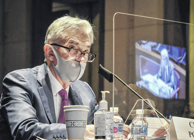 Fed Chairman Jerome Powell during a House Committee on Financial Services hearing on oversight of the Treasury Department and Fed Reserve pandemic response on June 30, 2020 in Washington, D.C. Bill O'Leary/Pool/Abaca Press/TNS