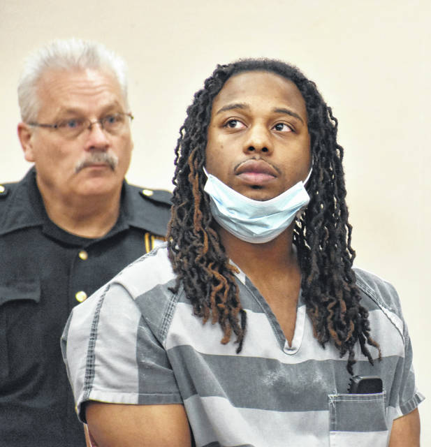 Melvin Boothe IV appeared in Allen County Common Pleas Court on Thursday during a pre-trial hearing in the Lima man's murder case. Boothe is charged with aggravated murder, tampering with evidence, gross abuse of a corpse and possessing criminal tools in the death of 25-year-old McKenzie Butler, whose body was found last summer in Lima's Martin Luther King Park.