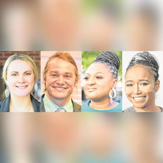 Lima's mayor candidates for the 2021 primary are, from left, Elizabeth Hardesty, Joshua Hayes, Sharetta Smith and Autumn Swanson.