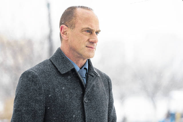 """Christopher Meloni as Detective Elliot Stabler in """"Law & Order: Organized Crime."""""""