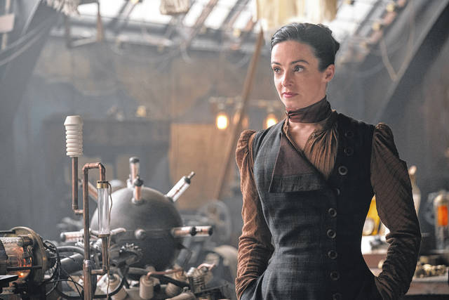 """Laura Donnelly as Amalia True in """"The Nevers."""" (Keith Bernstein/HBO/TNS)"""