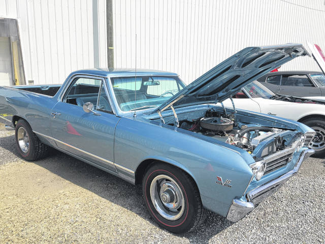 The 1967 Chevy El Camino was based on the popular Chevrolet Chevelle platform. It followed Chevelle's styling facelift with a new grille, front bumper, and trim. Air shocks came as standard equipment on the El Camino, allowing the driver to compensate for hauling a load.