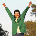 Matsuyama writes a new page in Masters history
