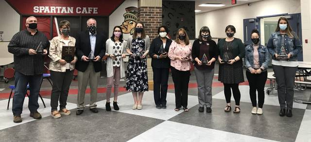 Outstanding 11 award honorees for 2021 were recognized by the Lima schools Board of Education on Monday.