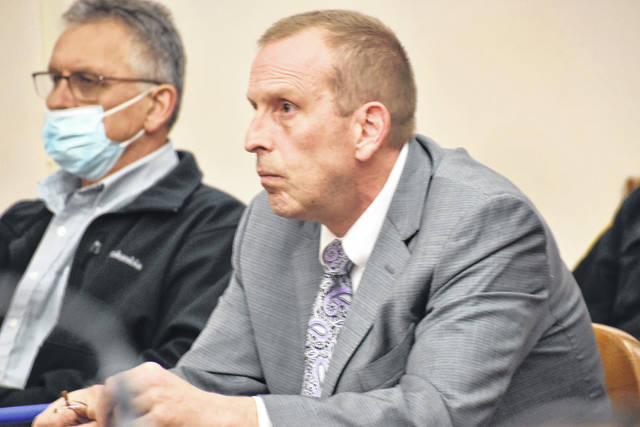 Defense Attorney Kenneth Rexford, pictured with his client, Frank Steinke, accused prosecutors of dragging their feet in bringing Steinke's aggravated vehicular homicide case to trial during a hearing Thursday in Allen County Common Pleas Court.