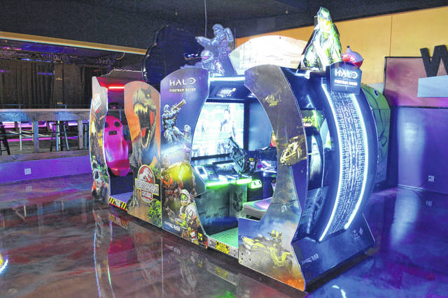 New video games are included in the expanded arcade area at Westgate Entertainment Center.