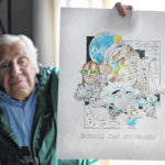 Artist, 88, finishes year of pandemic 'daily doodles'