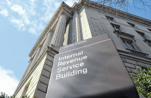 The exterior of the Internal Revenue Service (IRS) building in Washington is shown March 22, 2013. Lawmakers are increasingly looking at boosting the IRS to help pay for infrastructure improvements.