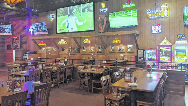 Inside Lima's newest Beer Barrel are 27 big-screen TVs and plenty of seating.